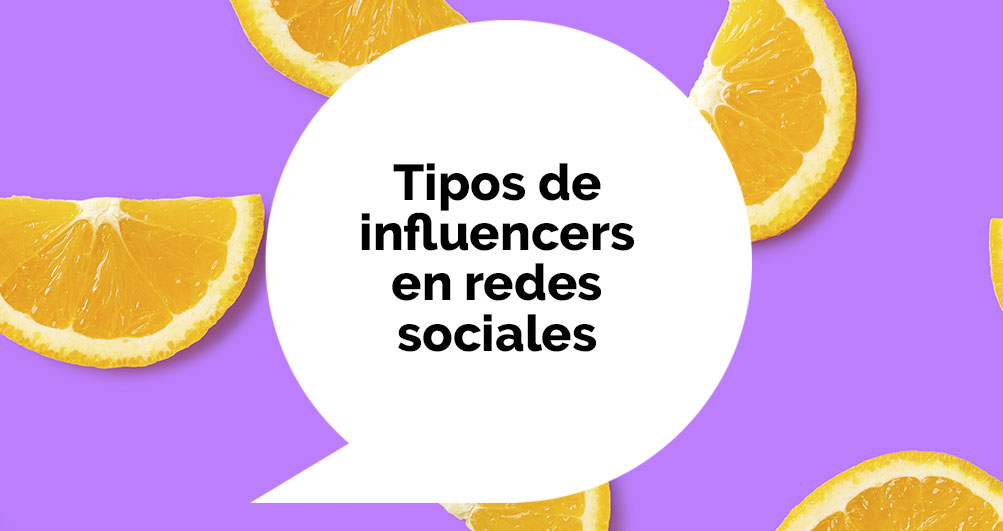 tipos influencers rrss